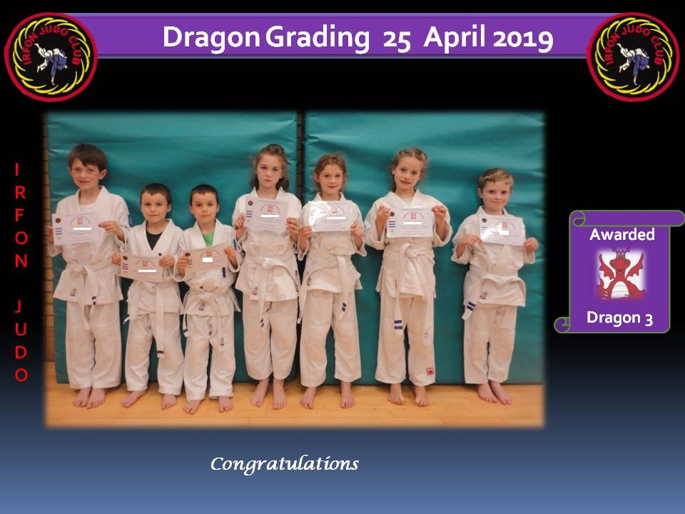 Dragon Grading 2 25.04.19