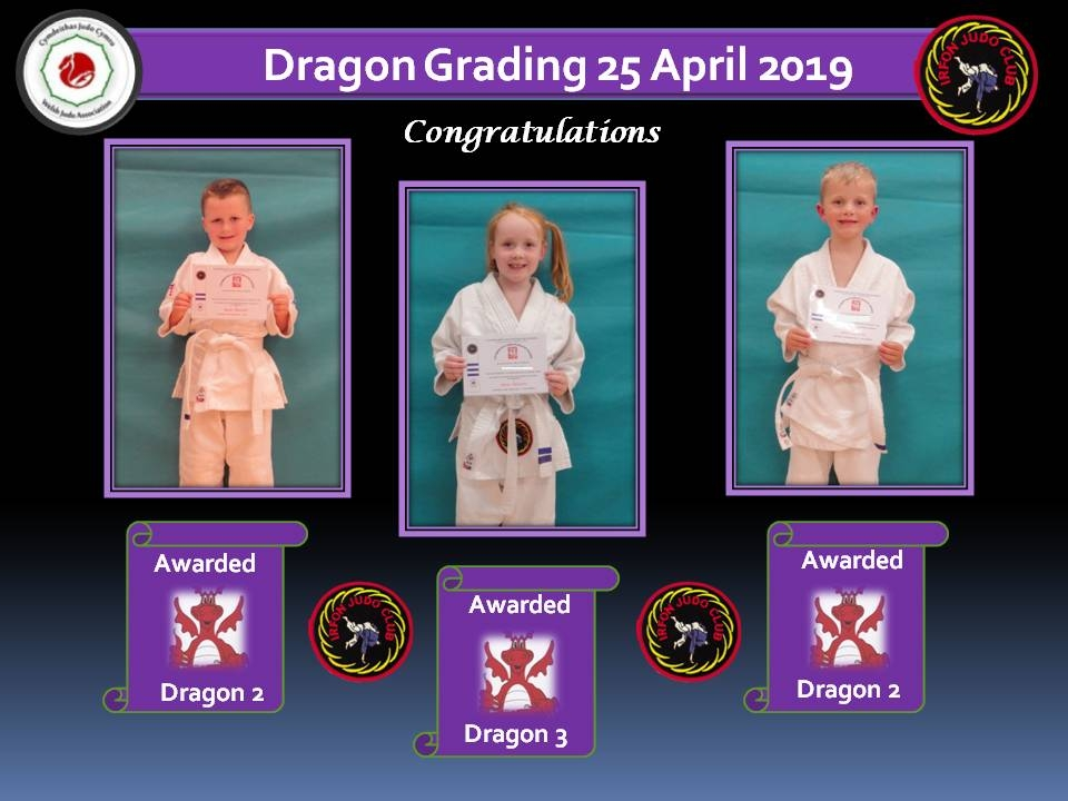 Dragon Grading 25.04.19