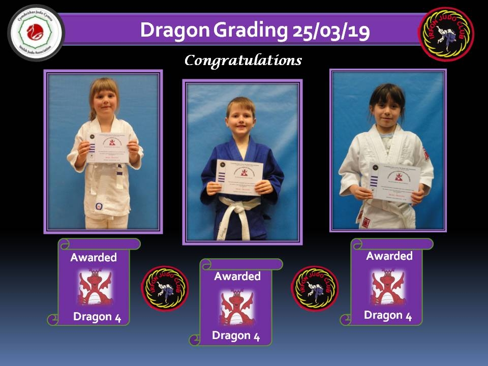 Dragon Grading 4 25.03.19