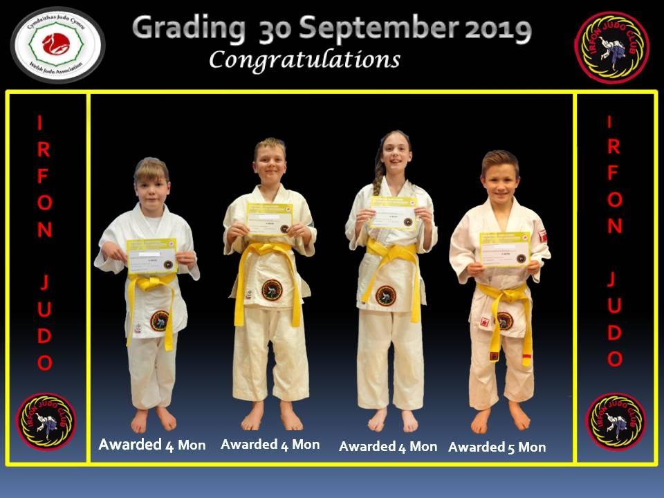 Junior Grading 30.09.19