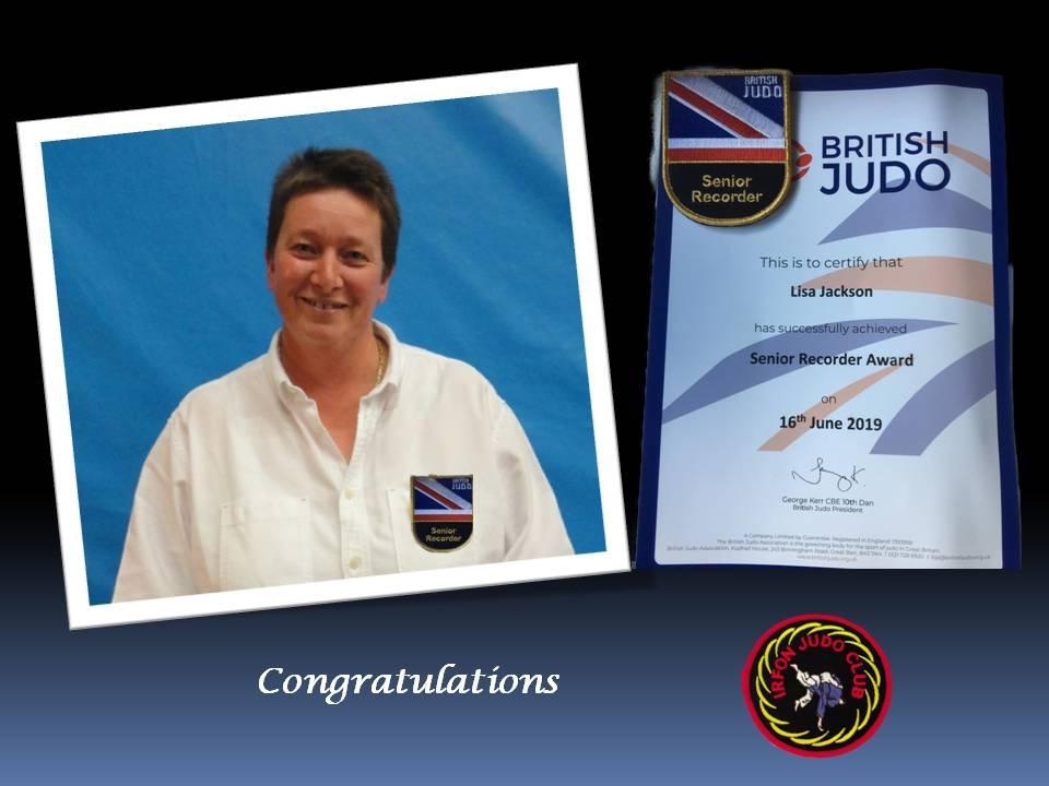 Recorder Award 16.06.19