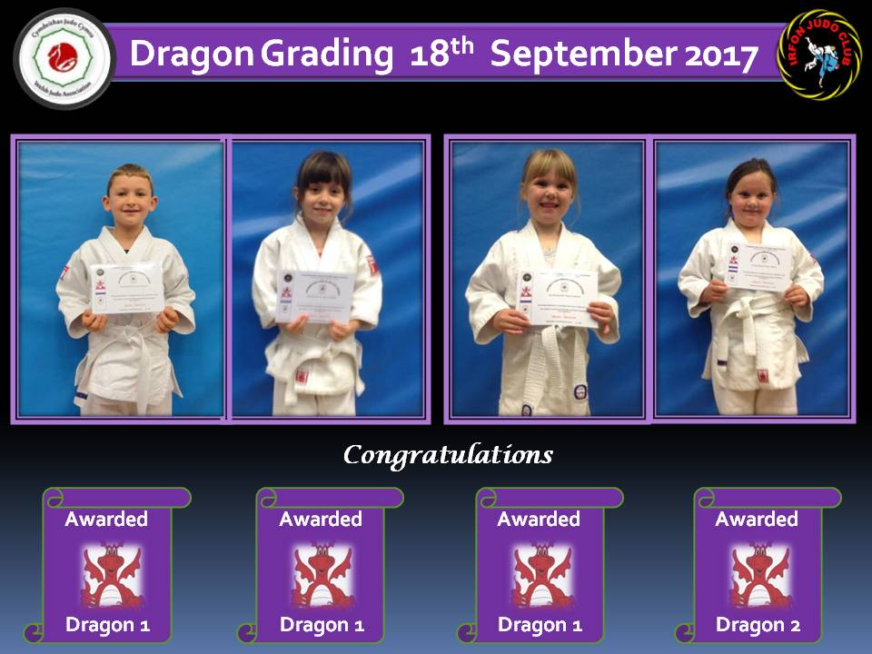 Dragon Gradings 18.09.17