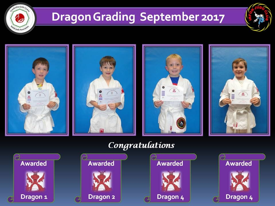 Dragon Grading Sept